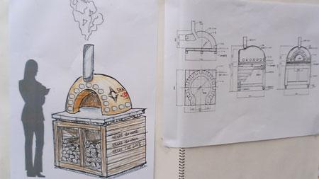 石窯設計図