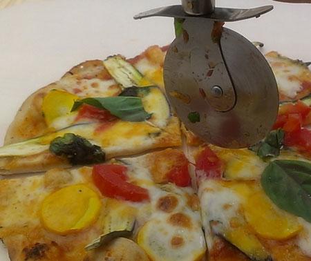 とても美味しい簡単ピザ!